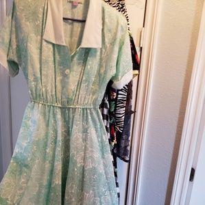 Plus size Vintage Style Dress